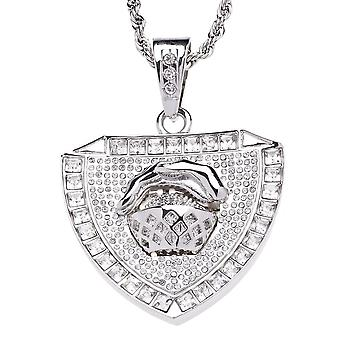 Iced Out Bling Kette - BASKETBALL STAR