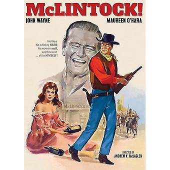 McLintock (1963) [DVD] USA import