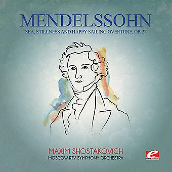 Felix Mendelssohn - Mendelssohn: Sea Stillness & Happy Sailing Overt [CD] USA import