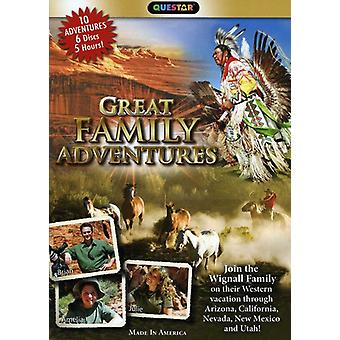 Great Family Adventures in the West [DVD] USA import