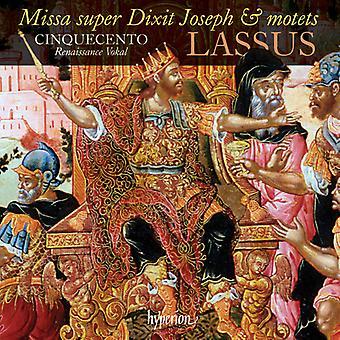 O. Lassus - José Missa Super Dixit y otras obras [CD] USA importar