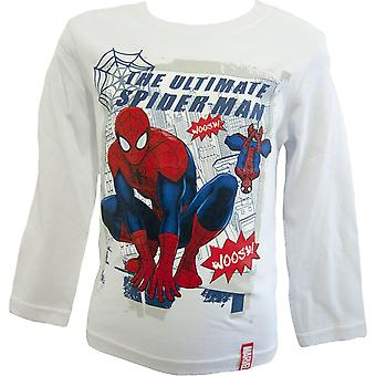 Spiderman Boys Long Sleeve Top