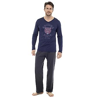 Mens Long Sleeve Arizona Bears Design Pyjama Lounge Wear