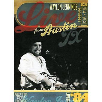 Waylon Jennings - Live från Austin Tx ' 84 [DVD] USA import