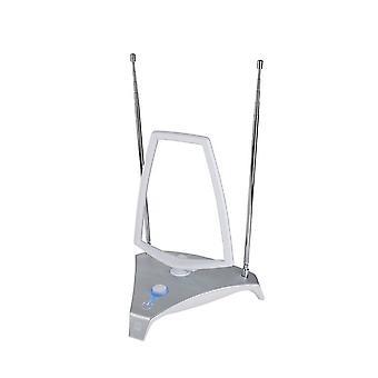 En For alle indendørs forstærker DVB-t antenne børstet alun (SV9365)