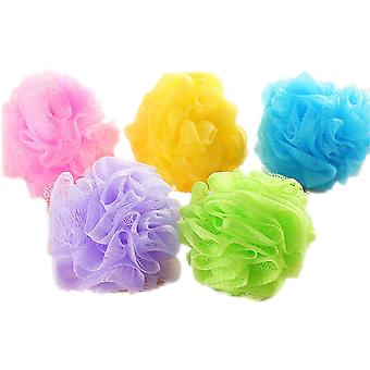 TRIXES Pack of 5 Body Scrubbers Easy Soap Lather in Assorted Colours