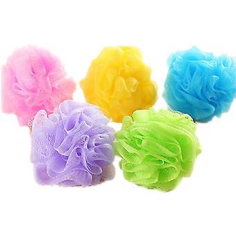 TRIXES Packung mit 5 Körper Wäscher einfach Seife Seifenschaum in sortierten Farben