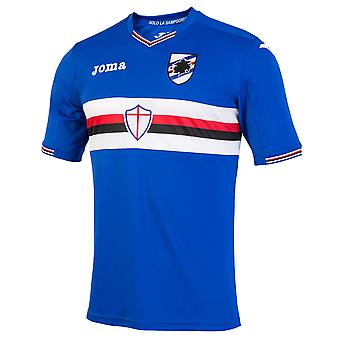 2016-2017 Sampdoria Joma Home Football Shirt