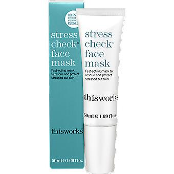 This Works Stress Check Face Mask