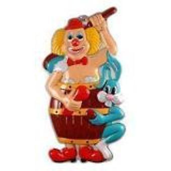 Partij gunsten Clown deco 40cmx25cm