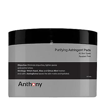 Anthony Logistics Purifying Astringent Pads (60 pads)