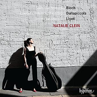 Natalie Clein - Bloch: Suites for Solo Cello Nos.1-3 [CD] USA import