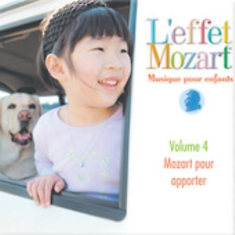 L'Effet Mozart Musique hæld Enfants - L'Effet Mozart: Musique hæld Enfants, Vol. 4 [CD] USA import