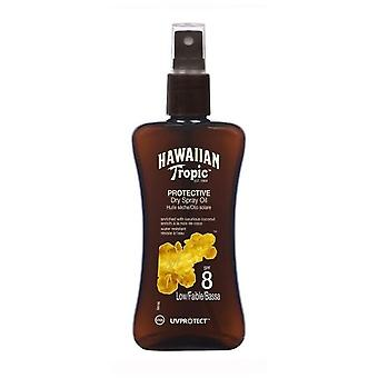 Hawaiian Tropic Ht Protective Dry Oil Spray SPF 8