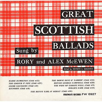 Rory McEwen & Alex - import USA wielkie ballady szkocki [CD]