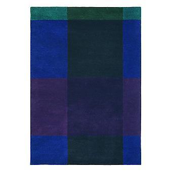 Karierte Marineblau geometrische Teppich-Ted Baker 57808