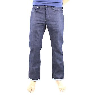 G-Star Attacc Straight Rigid Raw Selvedge Denim Jeans