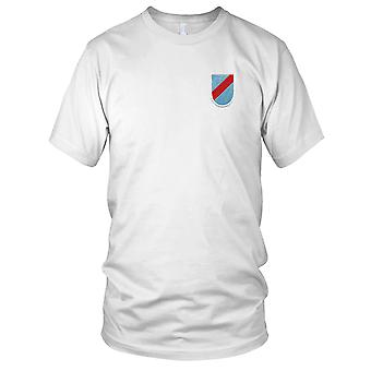 US Army - 20th Special Forces Group Airborne Flash Embroidered Patch - Mens T Shirt
