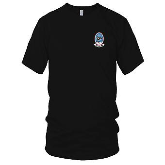 US Navy VQ-2 Aviation Air Reconnaissance Squadron Two Embroidered Patch - -Bat Mens T Shirt