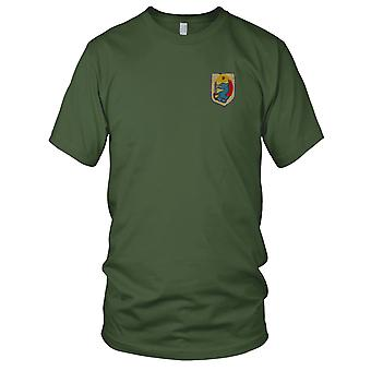 ARVN 9th Airborne Parachute Btl - Military Insignia Unit Vietnam War Embroidered Patch - Ladies T Shirt