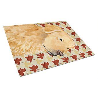 Carolines Treasures SS8675LCB French Bulldog Glass Cutting Board Large multicolor 12H x 16W