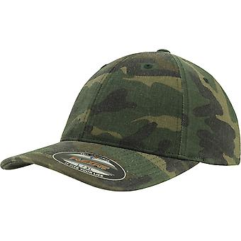 Flexfit Garment Washed Camo Baseball Cap