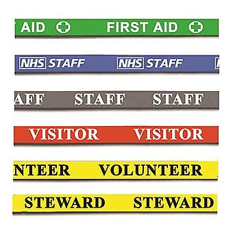 10 Printed Lanyards - Visitor