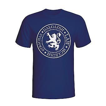 Szkocji prezydenckich T-shirt (navy)