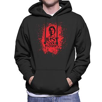 Walking Dead Carol Look At The Flowers Bloodstain Men's Hooded Sweatshirt