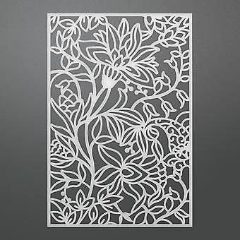Ultimate Crafts Bohemian Bouquet Background Die 5.5