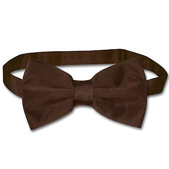 Vesuvio Napoli BOWTIE Solid Men's Bow Tie for Tux or Suit