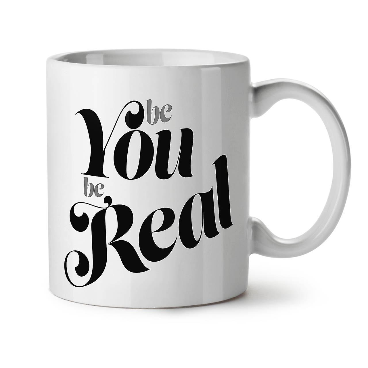 Vous Thé OzWellcoda Vrai Céramique Être Tasse Café 11 Blanc Nouveau Slogan tsdhrQ