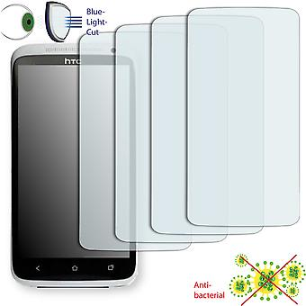 HTC Evita display protector - Disagu ClearScreen protector (deliberately smaller than the display, as this is arched)
