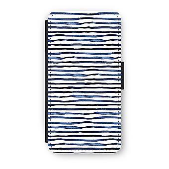 Huawei P9 Flip Case - Surprising lines