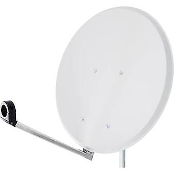 SAT antenna 55 cm Smart Click-Clack Reflective material: Steel