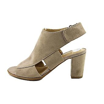 Naturalizer Womens Lucky Open Toe Casual Mule Sandals