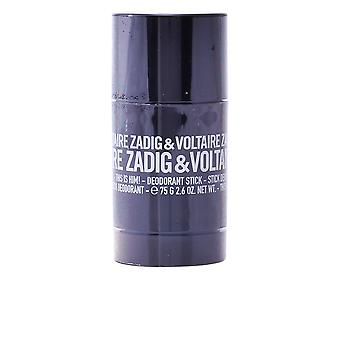 Zadig & Voltaire This Is Him! Deodorant Stick 75gr Mens New