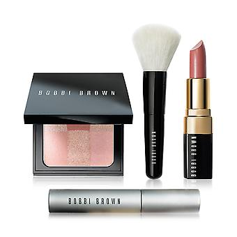 Bobbi Brown Ready, Set, Pretty Lip, Cheek & Eye Makeup 4-Pc. Set New In Box