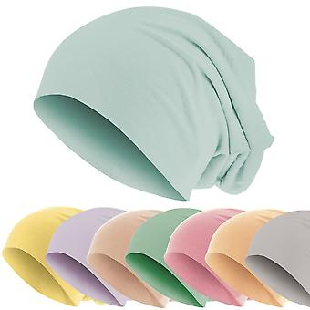 Urban Classics Pastel Jersey Unisex Slouch Beanie