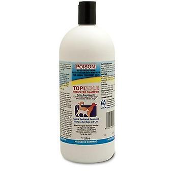 Topizole medicados Shampoo 1Lt