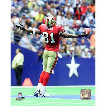 Terrell Owens 2000 Action Photo Print