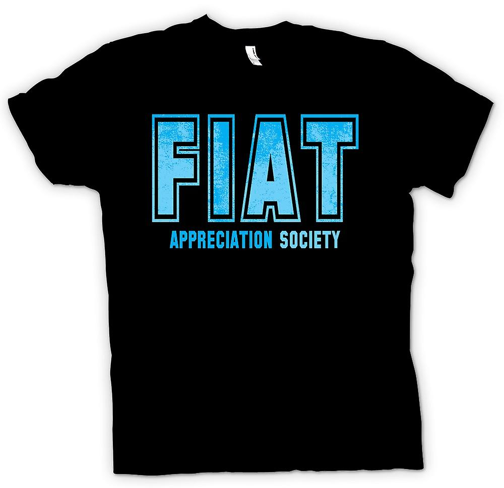 Mens T-shirt - Fiat Appreciation Society
