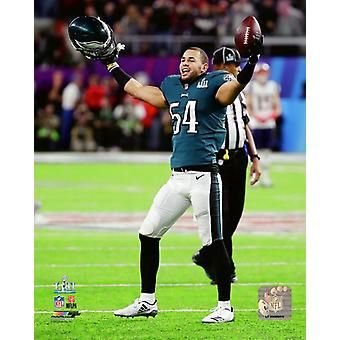 Kamu Grugier-Hill Super Bowl LII Photo Print