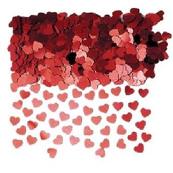 Konfetti røde hjerter Køb 1 få andre Free (2 x taske 84g)