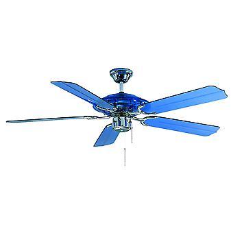 Plafonnier ventilateur Blue Angel (BC 864) bleu 132 cm/52