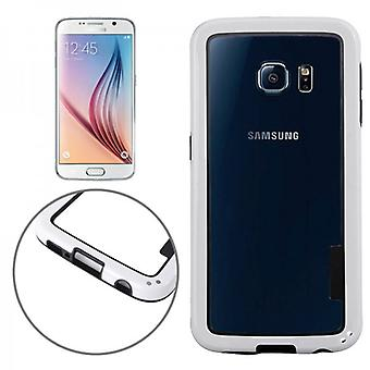 Pare-chocs hybride blanc pour Samsung Galaxy S6 G920 G920F
