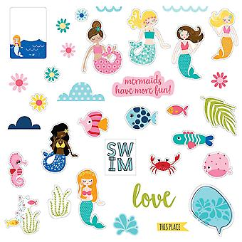 Secrets Of The Sea - Girl Paper Pieces Cardstock Die-Cuts