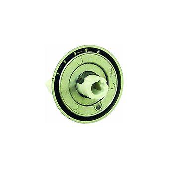 Conjunto de botão de controle de queimador de fogão Indesit