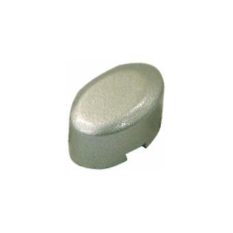 Botão de pressão de máquina de lavar roupa Indesit prata