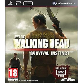 لعبة PS3 غريزة بقاء الميت المشي